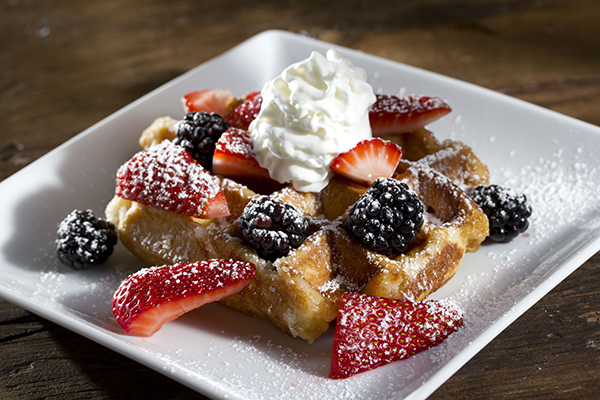 Waffle serving suggestions